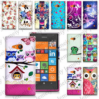 For Nokia Lumia 735 High Quality Soft TPU Gel Printing Protective Cover Case Mobile Phone Bag