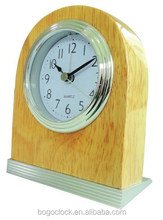 Promotional Wood light alarm clock for office