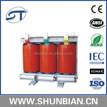 If you need the safe, difficult to fire, no pullution dry type transformer, please stop here: We can meet your requirement!!!