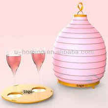 NEW Arrival Multifunction Lamps and Lanterns with LED candle Leaf Lamp Shades Table Lamp