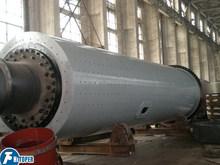 Tubu type edge drive model cement ball mill