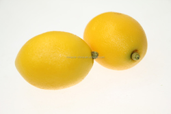Lemon plastic fruits artificial lemon for home decoration