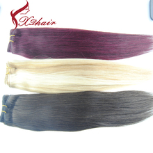 cheap Factory price High Quality Virgin 100% malaysian red remy hair weaving 99j