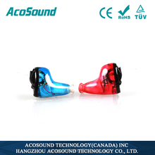 Alibaba AcoSound Acomate 610 Instant Fit Best Selling TUV CE ISO Approval digital sound amplifier mini hearing aid