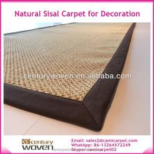 Natural Sisal Rug for Decoration