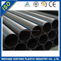 Shandong manufacture Grade A fire water underground hdpe pipe