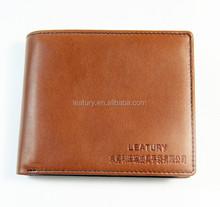 2015 hot selling men's wallet genuine leather wallet
