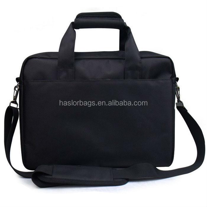 Personnalisé 14 polegada ordinateur portable sac à main avec bandoulière
