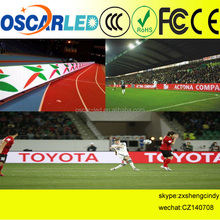 Outdoor Usage and Full Color Tube Chip Color football stadium electronic billboards