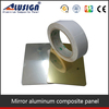 Aluminium composite panel mirror coating fireproof ceiling panels