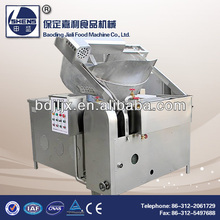 Coal fired deep fat fryer