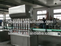 automatic ponzu sauce filling and capping line