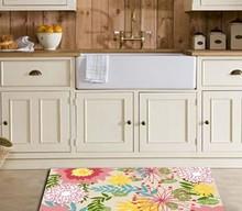 fashion anti-slip washable kitchen mat