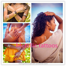 Fashion temporary body jewelry tattoo, temporary tattoos wholesale