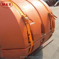 Bright Orange Pead Pontoon Float,Floating Pontoon for Dredging
