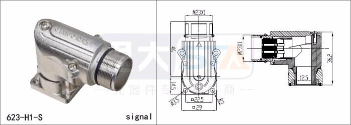 kuka standard robot connector m23 4pin 6pin 7pin 9pin 12pin 16pin 17pin 19pin shielded connetor