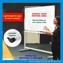Mobile Pin Boards Notice magnetic whiteboard 1500*1200mm