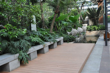 recycled wood plastic composite building material for outdoor