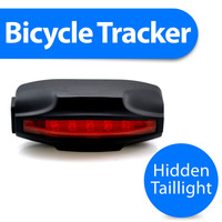 Bicycle bike gps tracker with taillight and hidden wireless gsm security bike alarm Kingneed T18