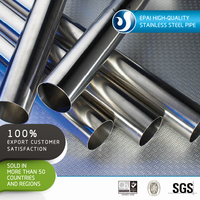 304 stainless steel round tubes factory