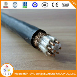 China factory cheap price copper conductor PVC Insulated Fire Resistant Screened Control Cables