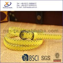Women Cutting and Braided PU belts
