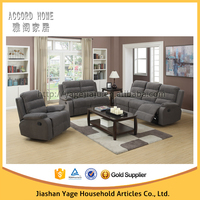 2015 Modern Fabric Sofa made in China / top selling sectional recliner sofa set