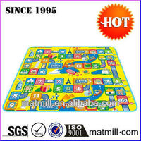 Promotional beautiful eva baby play mat number educational child toy/non-toxic play mat/floor puzzle mat