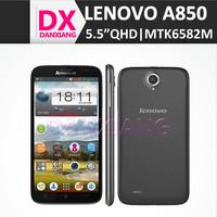 "Original Lenovo A850 1GB RAM 4GB ROM 5.0MP Back Camera Android 4.2 5.5"" IPS Screen MT6582m Quad Core Smart phone"