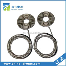120vac/200w K Type Thermocouple Flat Coil Heater