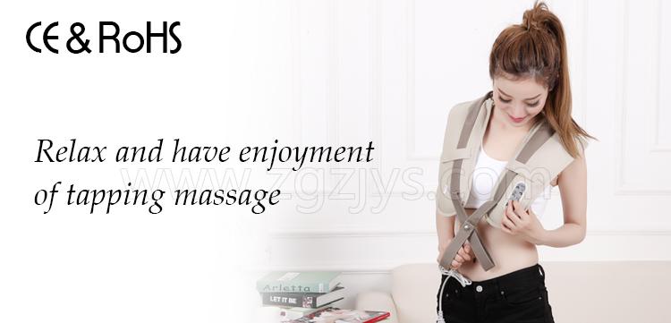 shiatsu personal massager with beat