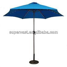 9' Alu. LED patio umbrella