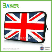 Colorful Customized Printed Wholesale neoprene 14 inch laptop sleeve