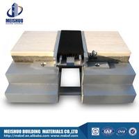 Building material Aluminum rubber expansion joint filler for tile floor