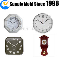 Customized ajanta wall clock models Made by Plastic Injection Mold