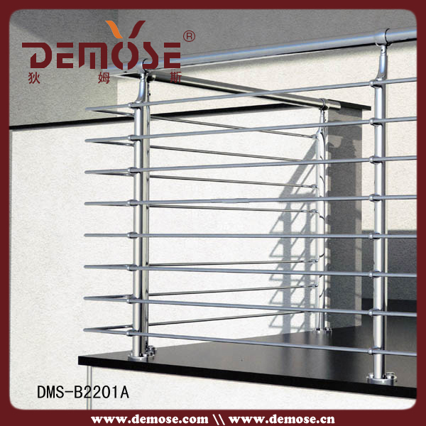 Balcony rail design new terrace grills design wire mesh for Terrace tubular design