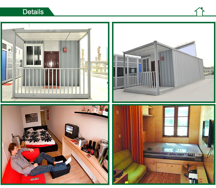 modern prefabricated container house for sale
