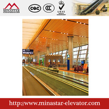 walk escalator|Passenger conveyor with speed 0.5m/s|Moving walkway