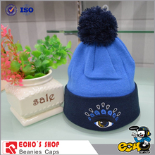 embroidery designs winter cap/cap winter/knitted men winter hat