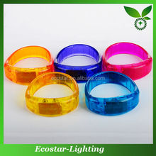 2015 Hot Sale LED Glowing Bracelet With LED Lights Blinking New Gifts For Party