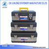 STAINLESS STEEL TOOL BOX WITH LOCKS