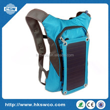 6.5W Solar Polyester Travel Bag solar Hiking backpack shenzhen