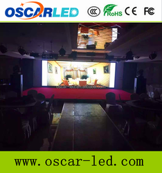 p3 full color LED panel module 192*96mm 64*32 dots/Indoor P3 HD full color led video wall display with high quality
