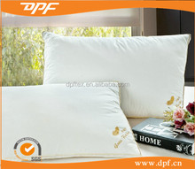 2015 new products Hotel high quality double stitch custom embroidery logo goose down pillowcase