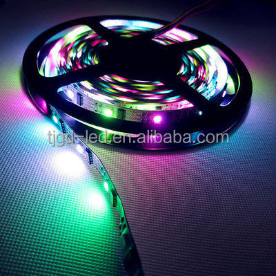 WS2812B led strip 5V IC 60LED strip 5050 RGB addressable led strip