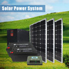 off grid hybrid wind power panel solar energy system