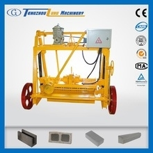 Qt4-30b concreto del bloque que hace precio de la máquina en india