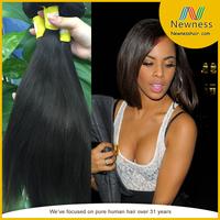 Virgin Remy Brazilian Hair Weft Brazilian Virgin Human Hair Extension Silky Straight