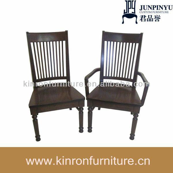 Fauteuil et chaise en bois chaise restaurant utilis for Chaise salle a diner