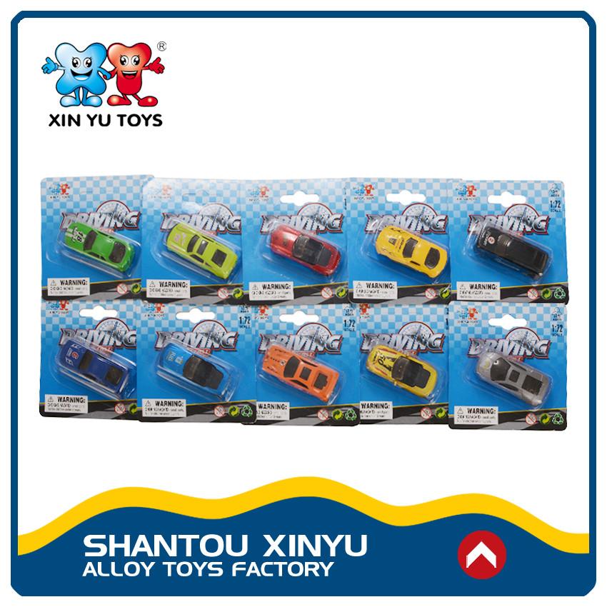 Shantou brinquedo venda direta do fabricante 1 72 scale diecast car aceitar personalizado